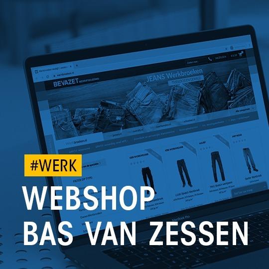 #WERK: Webshop Bas van Zessen