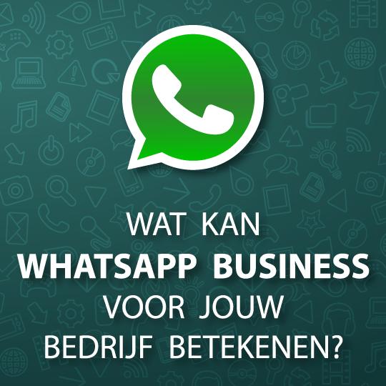 Wat kan WhatsApp Business voor jouw bedrijf betekenen?