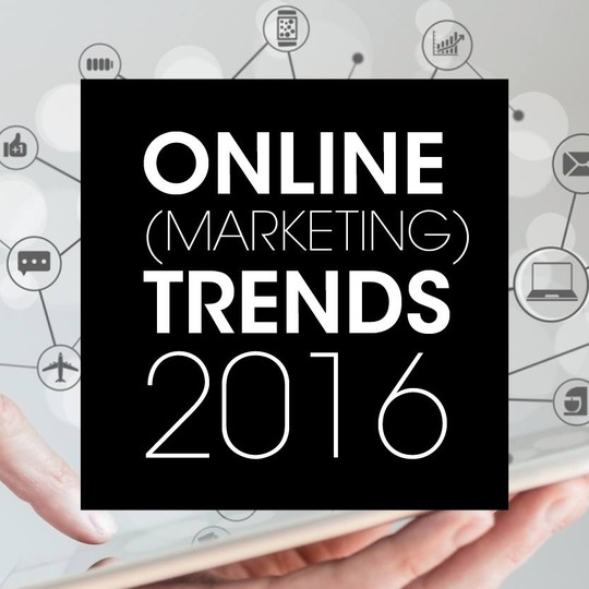 Online (marketing) trends voor 2016