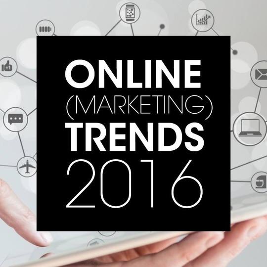 Online (marketing) trends voor 2016