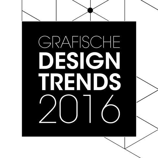 Grafische design trends voor 2016
