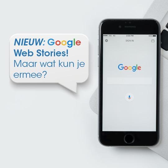 NIEUW: Google Web Stories! Maar wat kun je ermee?